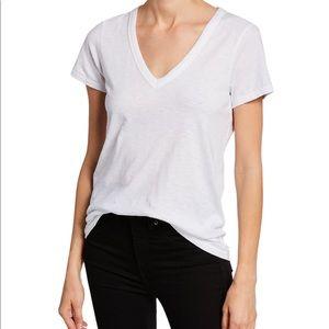 NEW Rag & Bone T Shirt Bright White V Neck M